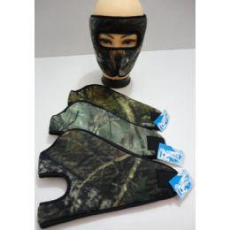 Wrap Around Face Mask [Hardwoods Camo] 12 pack