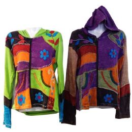 Nepal Handmade Cotton Jackets with Hood 5 pack