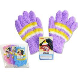 Kids' Fuzzy Gloves, 18g 288 pack