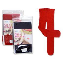 STOCKING GIRL'S 4-6 YRS SMALLASST CLR 288 pack