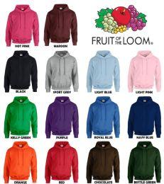 Men's Fruit Of The Loom Irregular Hoodies ,size 2xl