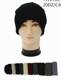 Unisex Winter Beanie Hat Assorted Colors 120 pack