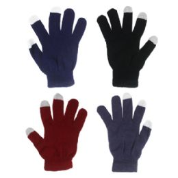 GLOVE ( TOUCH SCREEN GLOVES ) ASSORTED COLOR 72 pack