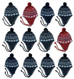 Yacht & Smith Kids Winter Fleece Helmet Hat Assorted Colors, Unisex