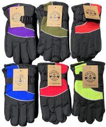 Yacht & Smith Kids Thermal Sport Winter Warm Ski Gloves Bulk Pack 24 pack