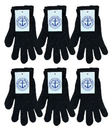 Yacht & Smith Unisex Black Magic Gloves