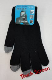 Men's Touch Screen Gloves 12 pack