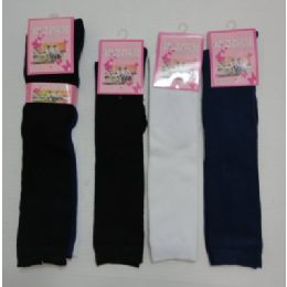 15 Inch Kids Knee High Socks Size 6-8 Assorted Solid Colors 60 pack