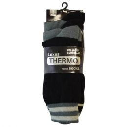Mens Thermo Socks 3pk 48 pack