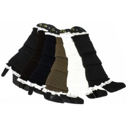 LEG WARMERS IN ASSORTED COLORS 120 pack