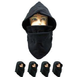 MEN WINTER HAT IN BLACK 72 pack
