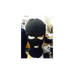 Black 3 Hole Ski Mask 96 pack
