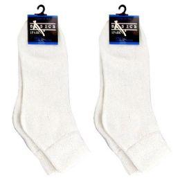 DIABETIC ANKLE SOCKS WHITE 9-11 120 pack