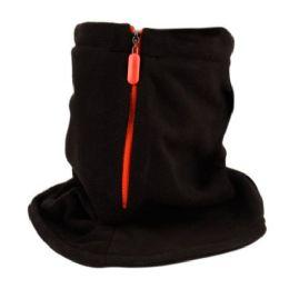 OUTDOOR SOFT FLEECE NECK WARM TUBE WITH ZIPPER 24 pack
