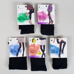 Leggs Tights- Assorted Styles And Sizes- Shelf Pulls 36 pack