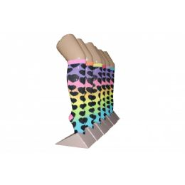 Girls Rainbow Hearts Knee High Socks 240 pack