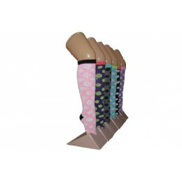 Girls Polka Dot Knee High Socks 240 pack