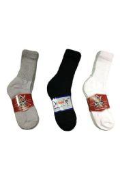 Womans Diabetic Crew Sock Size 9-11 60 pack