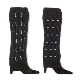 Leg warmer Black 48 pack