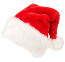 SANTA CLAUS CHRISTMAS HAT 36 pack
