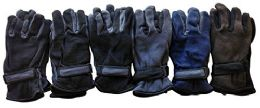 Yacht & Smith Men's Fleece Gloves 6 pack