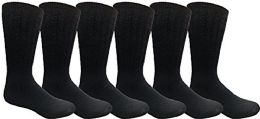 Yacht & Smith Men, Hunting Hiking Backpacking Thermal Sock (navy)