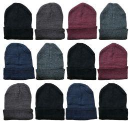 Yacht & Smith Unisex Winter Warm Acrylic Knit Hat Beanie