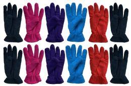 Yacht & Smith Women's Fleece Gloves