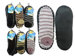 House Slippers With Anti-Skid Dots 144 pack