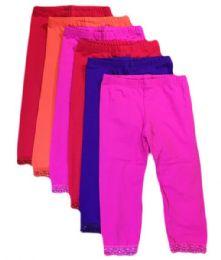 Kali & Wins Little Girl's Cotton Tights. Size medium 36 pack