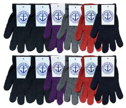 Yacht & Smith Women's Warm And Stretchy Winter Magic Gloves Bulk Pack