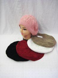 Women's Beret Winter Fashion Hat 36 pack