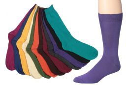 Mens Bright Color Dress Socks Size 10-13