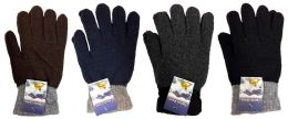 Knitted Glove Adult size 48 pack