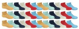Yacht & Smith Children Soft Plush Warm Fuzzy Sock Bulk Pack 36 pack