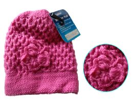 Asst Colors Beanie With Pom-Pom 144 pack