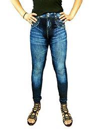 Yacht & Smith Women's Denim Jeggings Fashion Leggings One Size (style c)