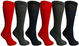 Yacht & Smith Women's Merino Wool Socks, Size 9-11 6 pack