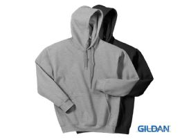 Gildan Mens Assorted Colors Irregular Fleece Hoodie Size -M