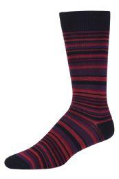 Men's Bamboo Nylon Spandex Crew Dress Socks 120 pack