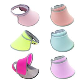 Women's Sun Hat Visor Shield in 6 Assorted Colors 24 pack