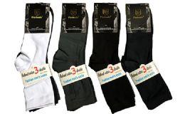 Assorted Mens Dress Socks Size 10-13 120 pack