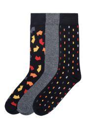 Men's Fashion Crew Dress Socks 120 pack