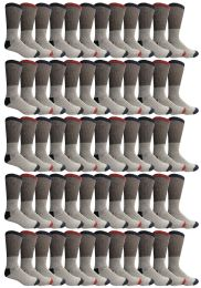 Yacht & Smith Womens Cotton Thermal Crew Socks , Warm Winter Boot Socks 10-13 60 pack