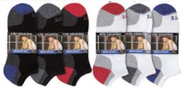 Mens Arch Support Elite No Show Athletic Performance Socks Size 10-13 144 pack