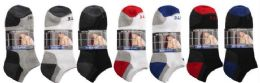 Men's 2 Pack Ankle Solid Colors, Sock Size 10-13 48 pack