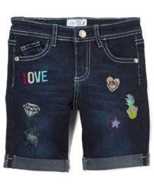 Girls' Bermuda Shorts, Size 4-6X 12 pack