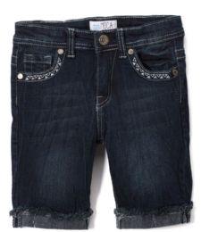 Girls' Bermuda Shorts. Size 7-14 12 pack