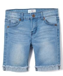 Girls' Bermuda Shorts. Size 4-6X 12 pack