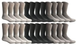Yacht & Smith Women's Sports Crew Socks, Size 9-11, Assorted 12 pack